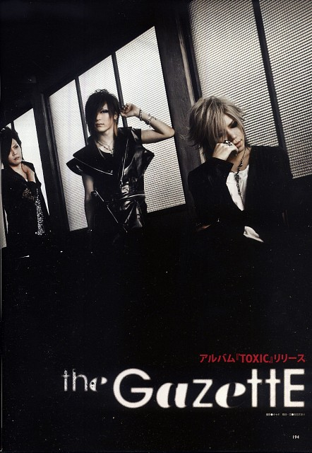 Gazette, Aoi (J-Pop Idol), Kai, Uruha