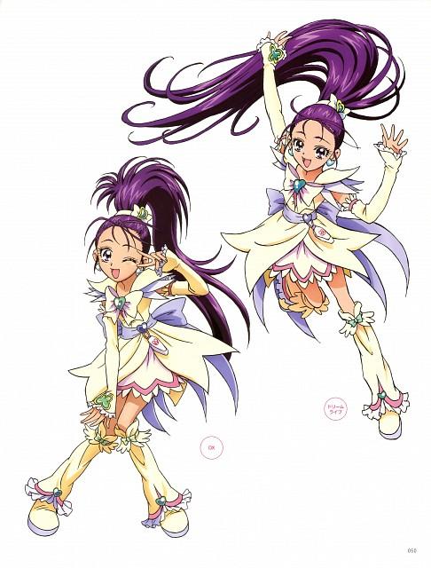 Toei Animation, Precure Splash Star, Kawamura Toshie Toei Precure Works, Cure Egret