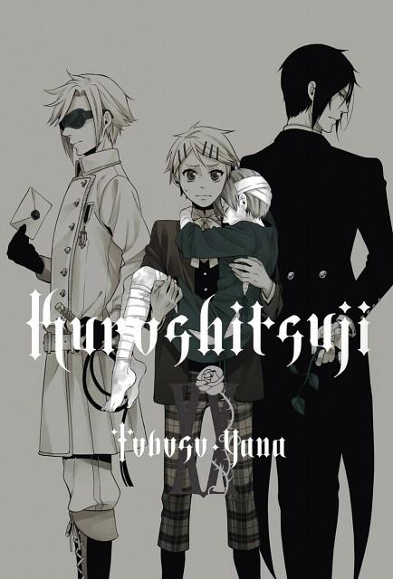 Yana Toboso, Square Enix, A-1 Pictures, Kuroshitsuji, Sebastian Michaelis
