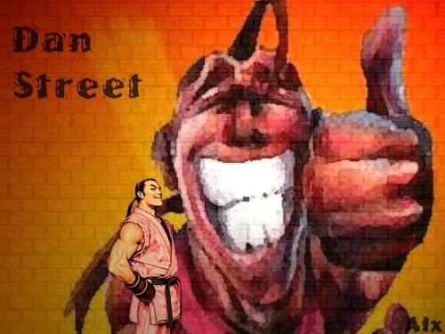 Capcom, Street Fighter, Dan Hibiki Wallpaper
