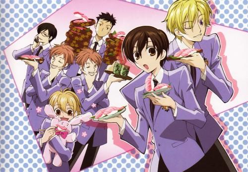 Hatori Bisco, BONES, Ouran High School Host Club, Takashi Morinozuka, Kyoya Ootori