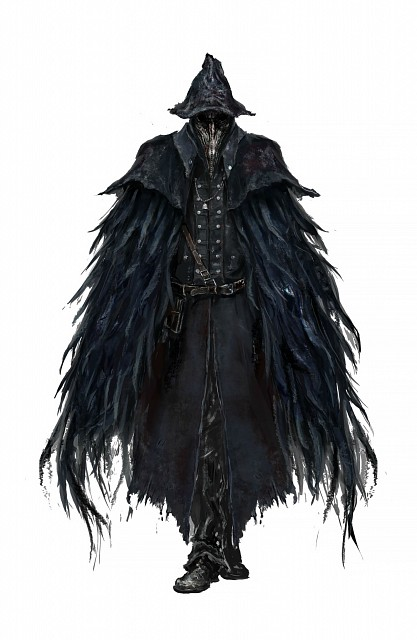FromSoftware, Sony Computer Entertainment Inc, Bloodborne, Eileen The Crow, Official Digital Art