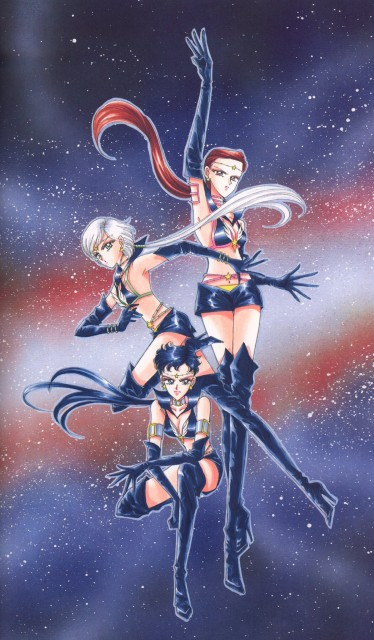 Naoko Takeuchi, Bishoujo Senshi Sailor Moon, BSSM Original Picture Collection Vol. V, Sailor Star Maker, Sailor Star Fighter