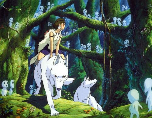 Kazuo Oga, Studio Ghibli, Princess Mononoke, San, Kodama