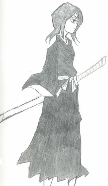 Kubo Tite, Bleach, Rukia Kuchiki, Member Art