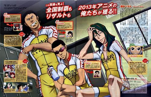 Wataru Watanabe, Yowamushi Pedal, Yuusuke Makishima, Shingo Kinjou, Jin Tadokoro