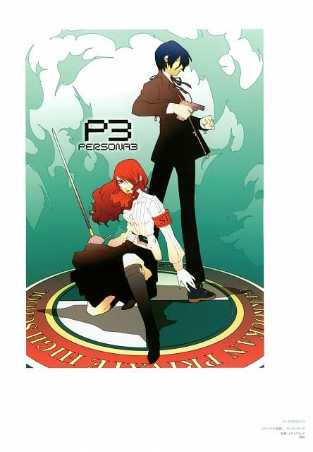 Shigenori Soejima, Atlus, Soejima Shigenori Artworks 2004-2010, Shin Megami Tensei: Persona 3, Minato Arisato