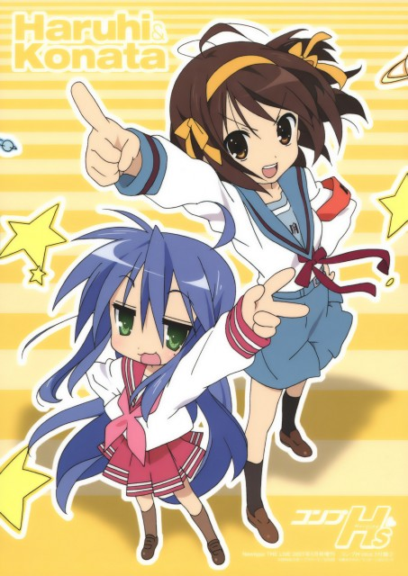 Kyoto Animation, The Melancholy of Suzumiya Haruhi, Lucky Star, Haruhi Suzumiya, Konata Izumi