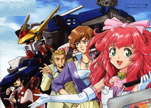 Sunrise (Studio), Mobile Suit Gundam SEED Destiny Astray, Eight (GSD Astray), Setona Winters, Matias