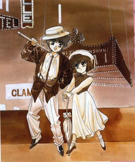 CLAMP, Man of Many Faces, Utako Ookawa, Akira Ijyuin, Newtype Magazine