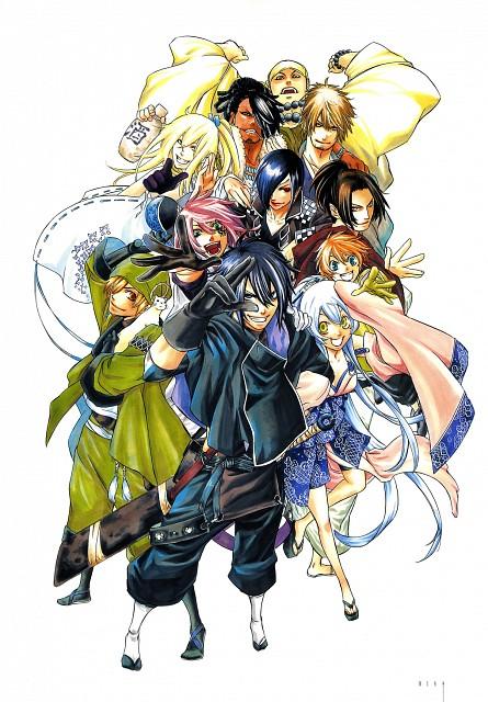 Kairi Shimotsuki, Studio Sakimakura, Brave 10, SHI-NO-GUI, Yukimura Sanada (Brave 10)