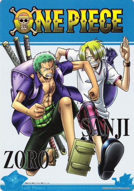 Eiichiro Oda, One Piece, Sanji, Roronoa Zoro