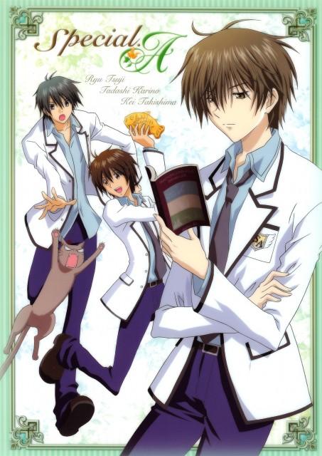 Anime International Company, Gonzo, Special A, Hikari Hanazono, Kei Takishima