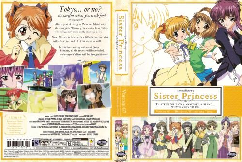 Naoto Tenhiro, Sister Princess, Sakuya, Haruka (Sister Princess), Kaho