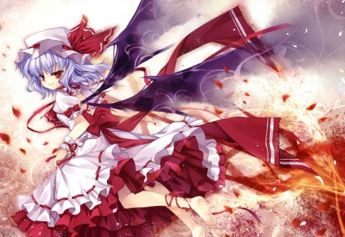 Capura Lin, Cioccolato - Touhou Series Illustration Book Vol.5, Touhou, Remilia Scarlet, Comic Market 76