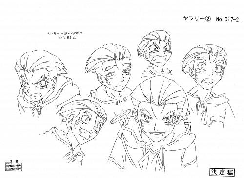 Yuuya Kusaka, Group TAC, Black Blood Brothers, Yafuri Chao, Character Sheet