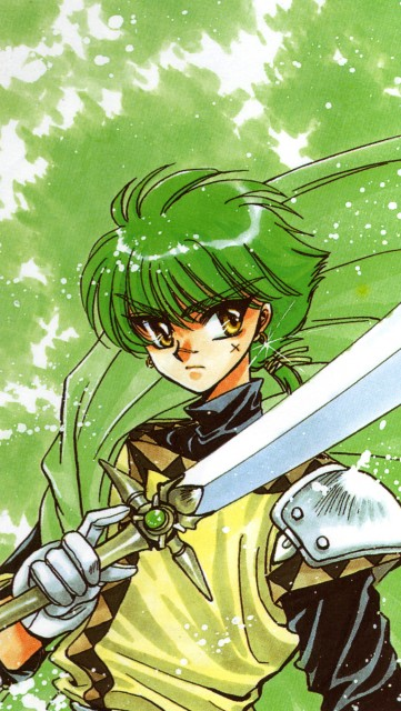 CLAMP, Magic Knight Rayearth, Magic Knight Rayearth Illustrations Collection, Ferio