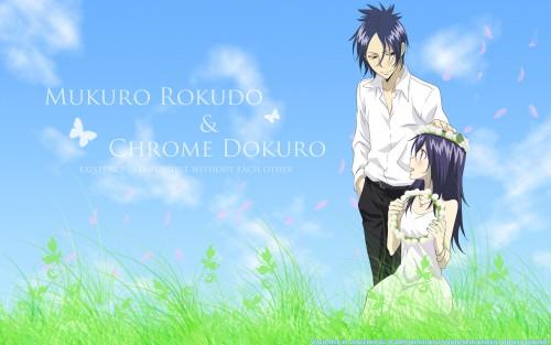 Akira Amano, Artland, Katekyo Hitman Reborn!, Chrome Dokuro, Mukuro Rokudo Wallpaper