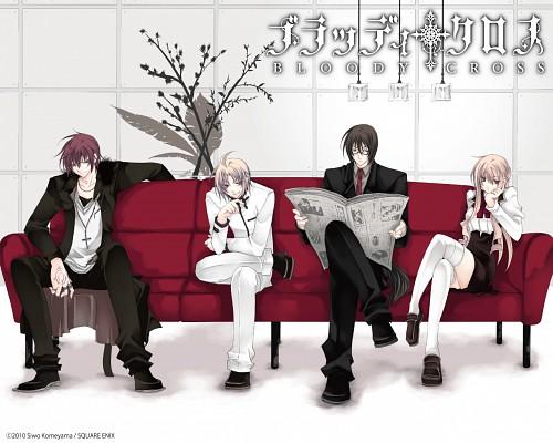 Shiwo Yoneyama, Bloody Cross, Tsuduki, Hinata (Bloody Cross), Hanamura