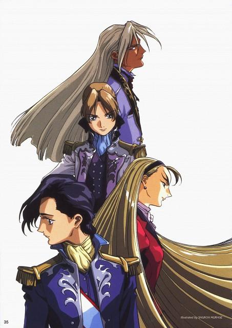 Sunrise (Studio), Mobile Suit Gundam Wing, Lucrezia Noin, Dorothy Catalonia, Relena Peacecraft