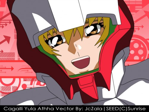 Sunrise (Studio), Mobile Suit Gundam SEED, Cagalli Yula Athha, Vector Art