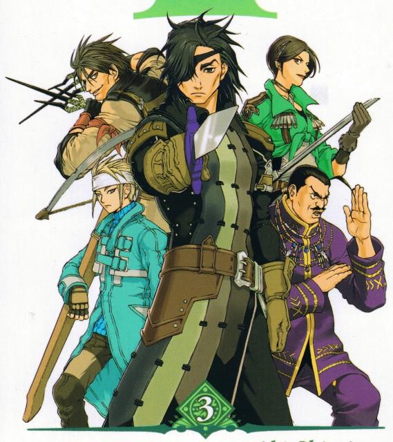 Aki Shimizu, Konami, Suikoden III, Jacques (Suikoden), Queen (Suikoden)