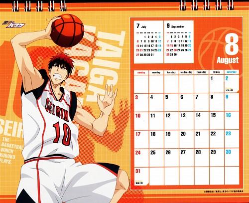 Tadatoshi Fujimaki, Production I.G, Kuroko no Basket, Kuroko No Basket Calendar 2014, Taiga Kagami