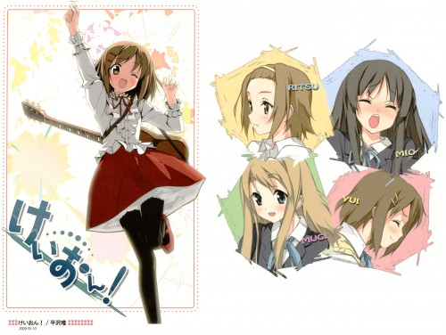 Kakifly, Kyoto Animation, K-On!, Ritsu Tainaka, Tsumugi Kotobuki