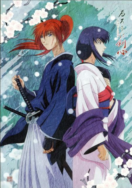 Nobuhiro Watsuki, Studio Deen, Rurouni Kenshin, Kenshin Himura, Tomoe Yukishiro