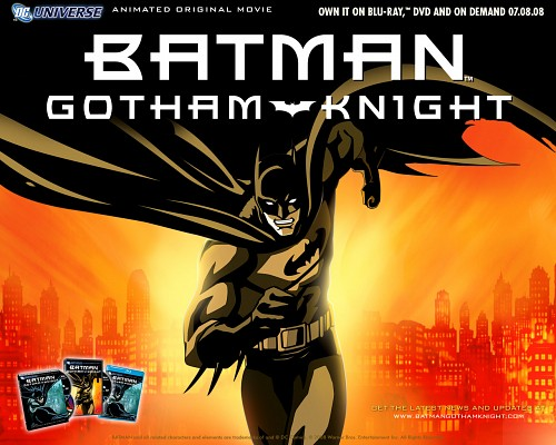 Batman: Gotham Knight, Batman (Character), Official Wallpaper