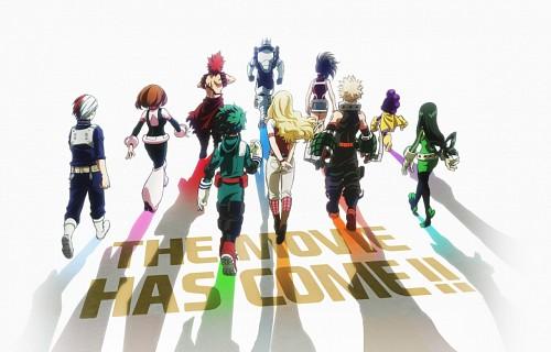 Kouhei Horikoshi, BONES, Boku no Hero Academia, Izuku Midoriya, Tsuyu Asui