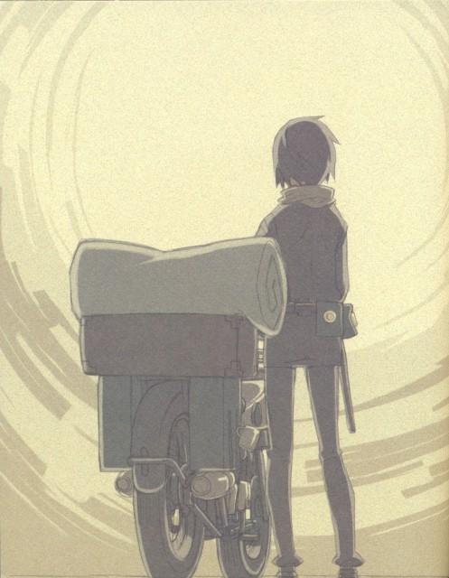 Kouhaku Kuroboshi, Kino no Tabi, Hermes, Kino