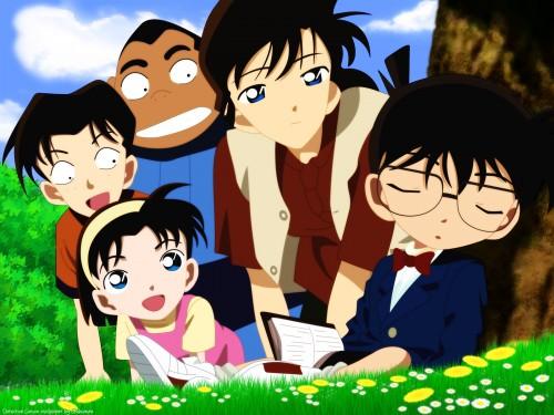 Gosho Aoyama, TMS Entertainment, Detective Conan, Conan Edogawa, Ayumi Yoshida Wallpaper