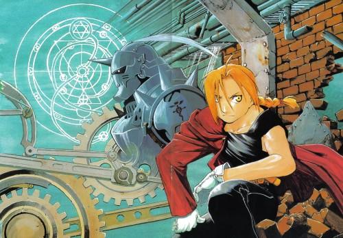 Hiromu Arakawa, BONES, Fullmetal Alchemist, Fullmetal Alchemist Artbook Vol. 1, Alphonse Elric