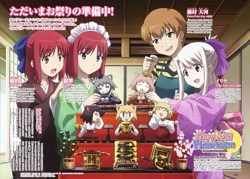 Tomohito Hirose, TYPE-MOON, Lerche, Carnival Phantasm, Kohaku (Shingetsutan Tsukihime)