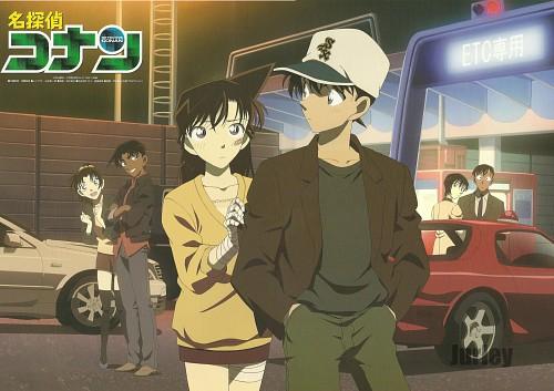 Gosho Aoyama, TMS Entertainment, Detective Conan, Ran Mouri, Heiji Hattori