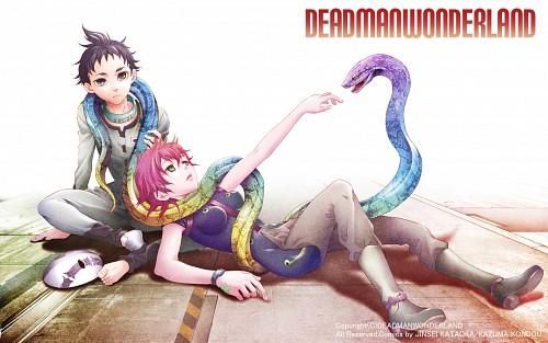 Kazuma Kondou, Manglobe, Deadman Wonderland, Azami Midou, Ganta Igarashi