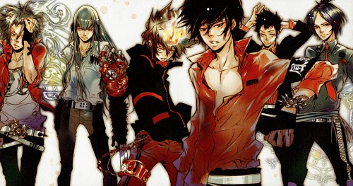 Akira Amano, Artland, Katekyo Hitman Reborn!, REBO to DLIVE, Superbi Squalo