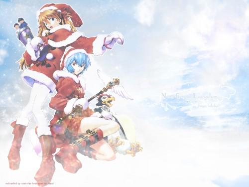 Yoshiyuki Sadamoto, Neon Genesis Evangelion, Pen Pen, Rei Ayanami, Asuka Langley Soryu Wallpaper