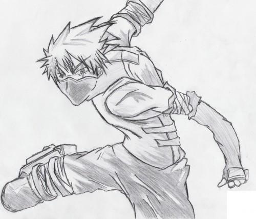 Studio Pierrot, Naruto, Kakashi Hatake, Member Art