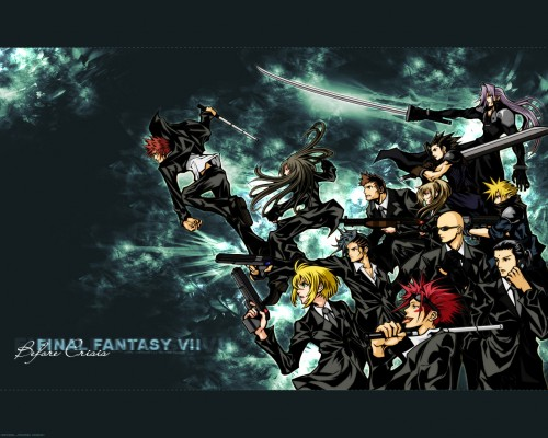 Square Enix, Final Fantasy VII: Before Crisis, Final Fantasy VII, Final Fantasy VII: Crisis Core, Sephiroth Wallpaper