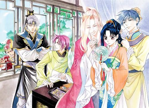 Kairi Yura, Madhouse, Saiunkoku Monogatari, Reishin Kou, Suou Shin