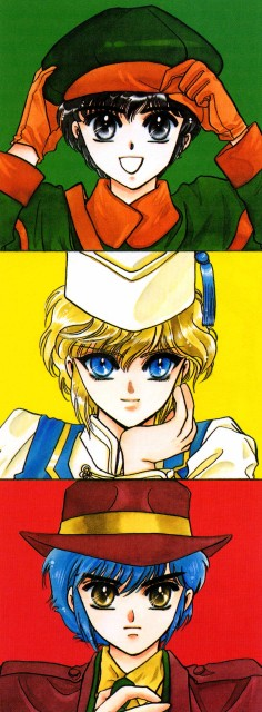 CLAMP, Studio Pierrot, CLAMP School Detectives, CLAMP South Side, Suoh Takamura