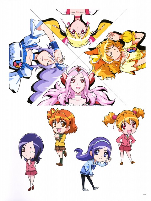 Toei Animation, Fresh Precure!, Hisashi Kagawa Toei Animation Precure Works, Cure Passion, Setsuna Higashi
