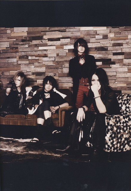 Hiroto, Uruha, Alice Nine, Aoi (J-Pop Idol), Gazette