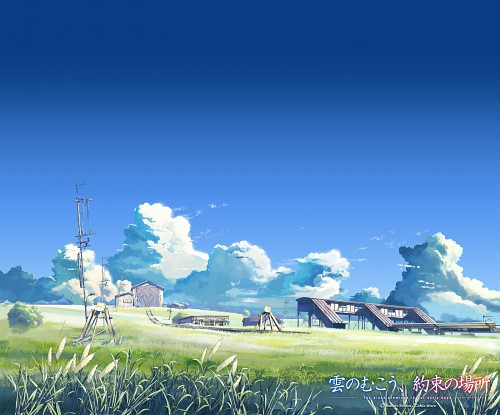 Makoto Shinkai, The Place Promised in Our Early Days, Album Cover