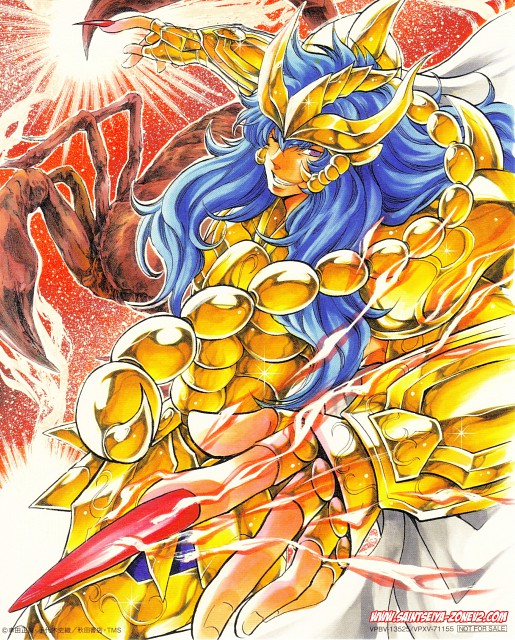 Shiori Teshirogi, Saint Seiya: The Lost Canvas, Aquarius Degel, Scorpio Kardia