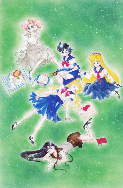 Naoko Takeuchi, Bishoujo Senshi Sailor Moon, BSSM Original Picture Collection Vol. I, Usagi Tsukino, Minako Aino