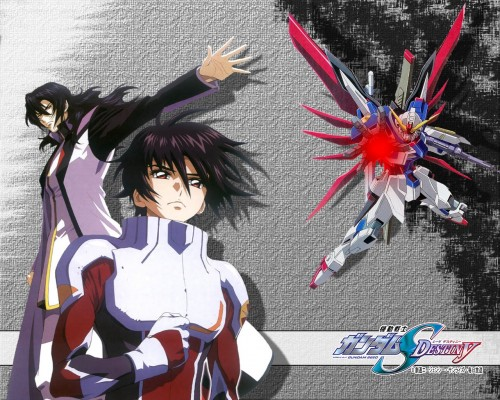 Sunrise (Studio), Mobile Suit Gundam SEED Destiny, Gilbert Durandal, Shinn Asuka Wallpaper