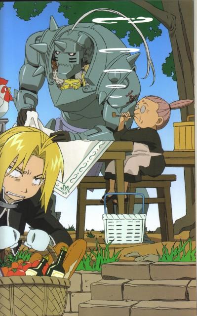 Hiromu Arakawa, BONES, Fullmetal Alchemist, Fullmetal Alchemist Complete Book, Pinako Rockbell